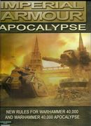 Imperial Armour Apocalypse New Rules for Warhammer 40,000 Expansion hardback book (2007)